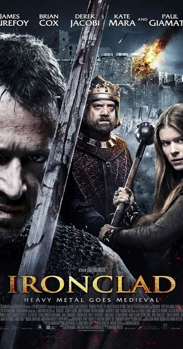 Ironclad - not historically accurate but a fun Templar movie